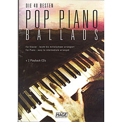 Hage Pop Piano Ballads « Notenbuch