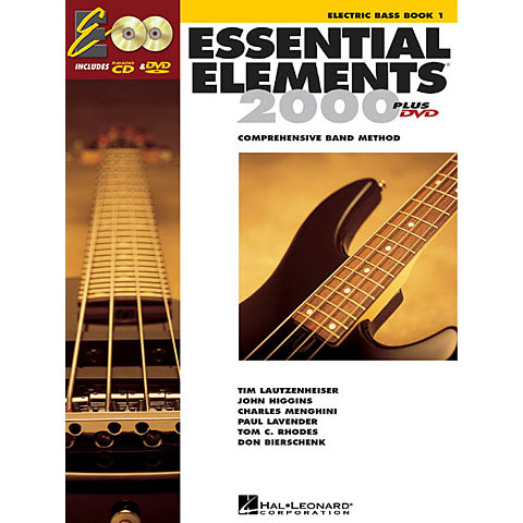Manuel pédagogique De Haske Essential Elements Book 1 - E-Bass