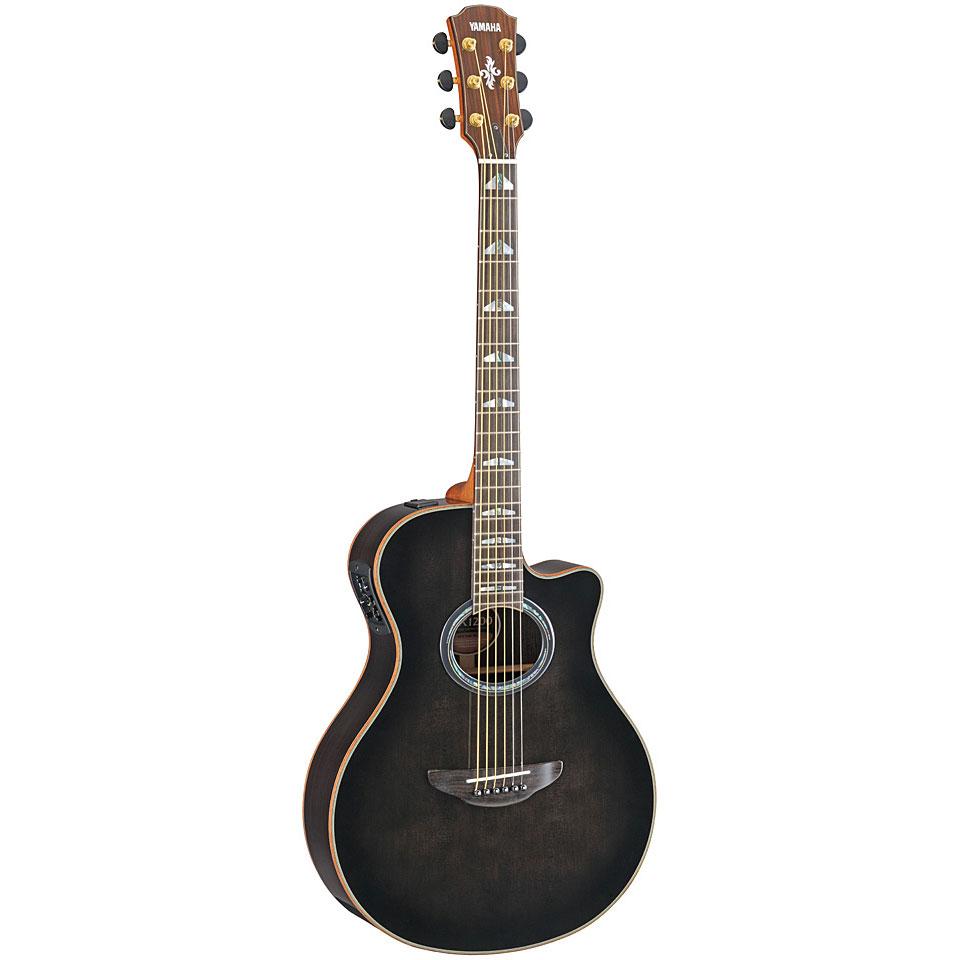 acoustic guitar yamaha apx 1200 tbl  western guitars