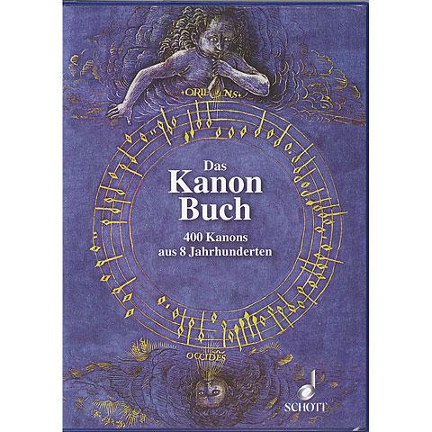 Partitions choeur Schott Das Kanon-Buch