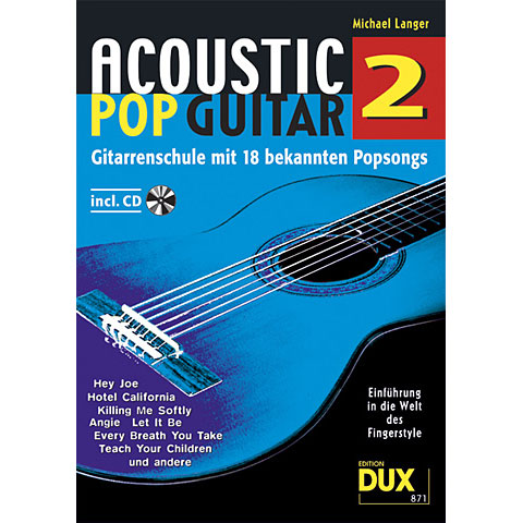 Dux Acoustic Pop Guitar Bd.2