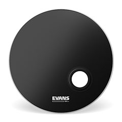 "Evans Resonant EMAD 22"" Bass Drum Head with Port « Peau de grosse caisse"
