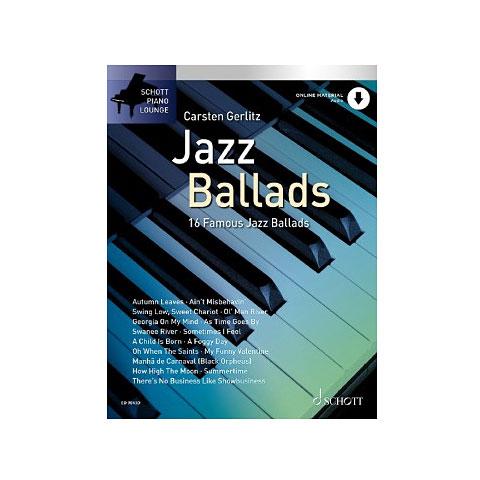 Notenbuch Schott Piano Lounge Jazz Ballads