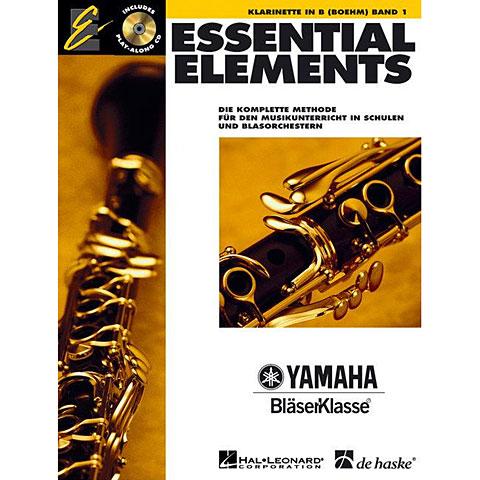 Lehrbuch De Haske Essential Elements 1 - Clarinet Boehm