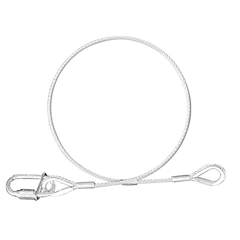 Riggingmaterial Expotruss Safety wire 3mm 45cm BGV C1