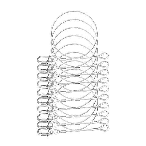 Expotruss Safety wire set 3 mm 45 cm BGV C1