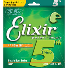 Elixir Nanoweb 5th Super Light B .125