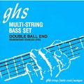 Set di corde per basso elettrico GHS Double Ball 5L-DBB