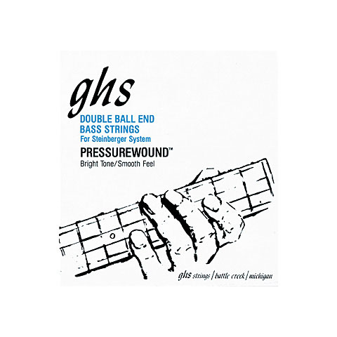 ghs double ball 5610 extra light electric bass strings Headstock Electric Bass Strings