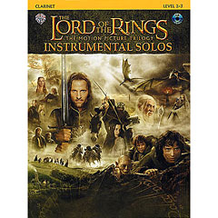 Warner The Lord of the Rings Trilogy for Clarinet inkl.CD