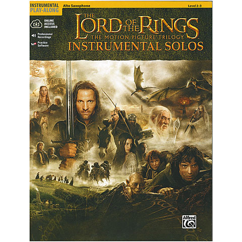 Warner The Lord of the Rings Instrumental Solos for Alto-Sax