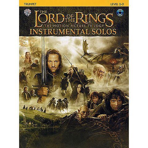 Warner The Lord of the Rings Trilogy Instrumental Solos for Trumpet