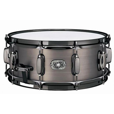 "Tama Steel Series 14"" x 5,5"" Snare Drum with Black Nickel Hardware"