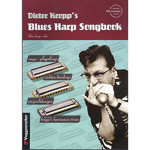 Recueil de Partitions Voggenreiter Dieter Kropp´s Blues Harp Songbook