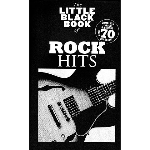 Music Sales The Little Black Songbook of Rock Hits