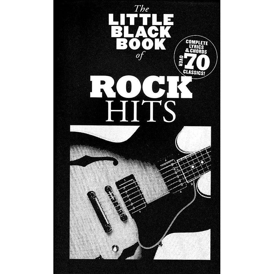 Music Sales The Little Black Songbook Of Rock Hits Songbook