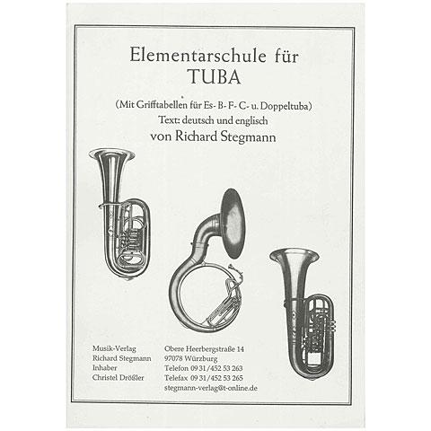 Libros didácticos Richard Stegmann Musikverlag Elementarschule für Tuba