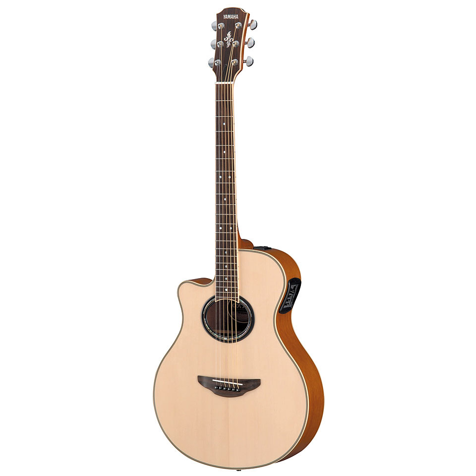 Yamaha apx700iil nt lefthand acoustic for Apx guitar yamaha