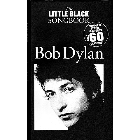 Music Sales The Little Black Songbook Bob Dylan