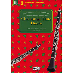 Hage Christmas Time Duets « Recueil de Partitions