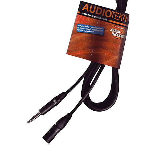 Cable de audio AudioTeknik GSM 5 m black