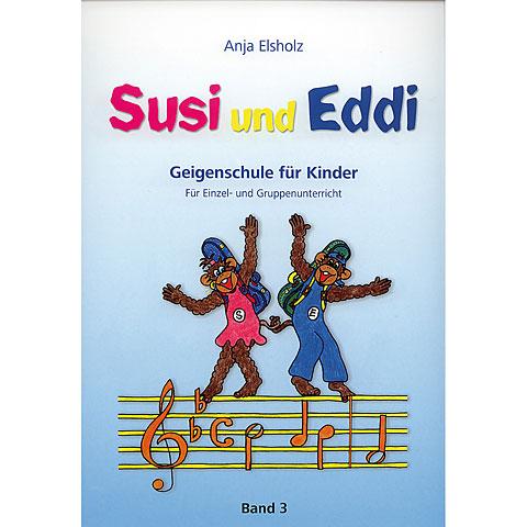 Manuel pédagogique Heinrichshofen Susi & Eddi Geigenschule für Kinder Bd.3