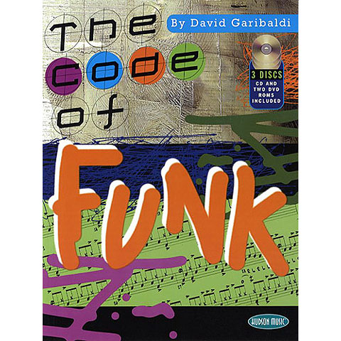 Libros didácticos Hudson Music The Code of Funk