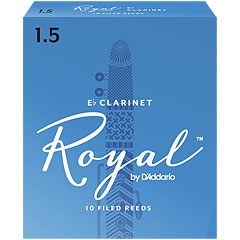 D'Addario Royal Boehm Eb-Clarinet 1,5 « Blätter
