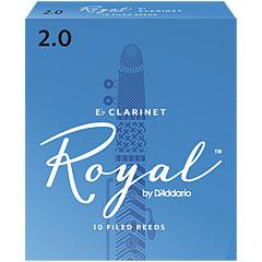D'Addario Royal Boehm Eb-Clarinet 2,0 « Blätter