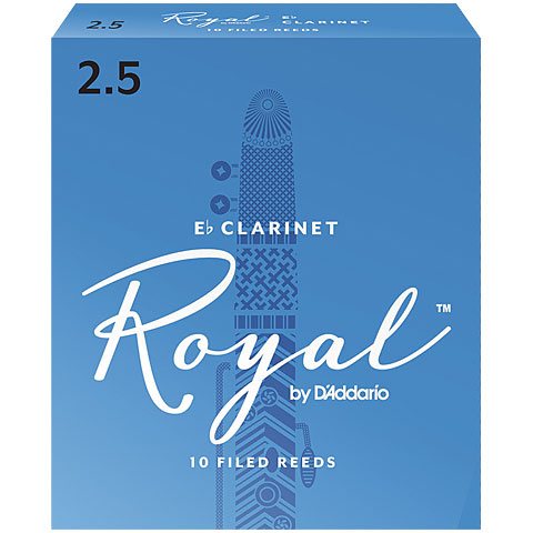 Blätter D'Addario Royal Boehm Eb-Clarinet 2,5