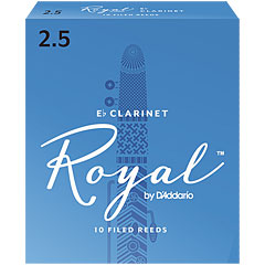 D'Addario Royal Eb-Clarinet 2,5 « Anches