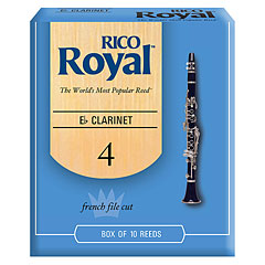 Rico Royal Es-Clarinet 4,0 « Blätter