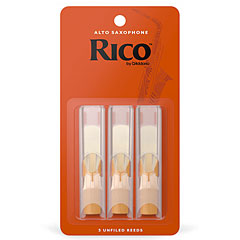 D'Addario Rico Alto Sax 2,0 3-Pack « Blätter