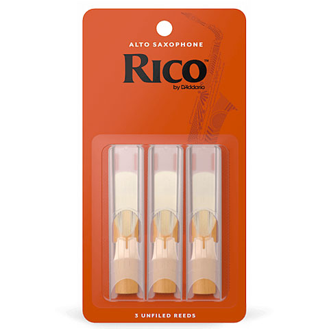 Blätter D'Addario Rico Alto Sax 3,0 3-Pack