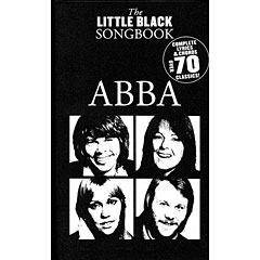 Music Sales The Little Black Songbook - ABBA « Cancionero