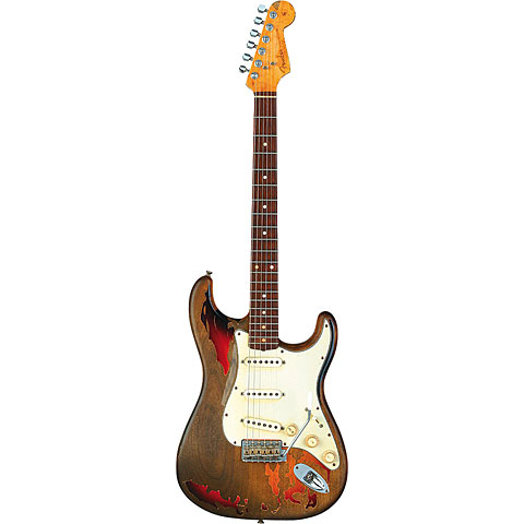 Fender Rory Gallagher Stratocaster, Ex-Sunburst « E-Gitarre