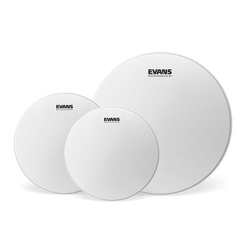 Drumhead Set Evans Genera G1 Coated 10/12/14 Fusion Set