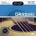 Set di corde per chitarra western e resonator D'Addario EXP38 .010-047
