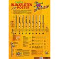 Poster Voggenreiter Voggy's Blockflöten-Poster