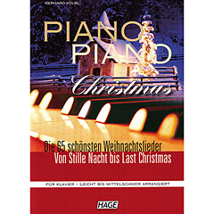 Hage Piano Piano Christmas « Recueil de Partitions
