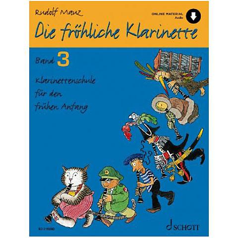 Schott Die fröhliche Klarinette Bd.3 inkl. CD