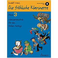 Schott Die fröhliche Klarinette Bd.3 inkl. CD « Lehrbuch