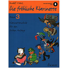 Schott Die fröhliche Klarinette Bd.3 inkl. CD « Manuel pédagogique