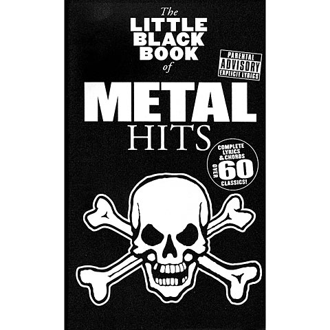 Music Sales The Little Black Book of Metal Hits