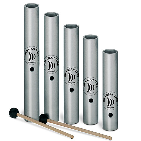 Wah-Wah Tube Schlagwerk Wah-Wah Tube 5 Piece Pentatonic Set