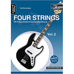 Artist Ahead www.FOUR-STRINGS.de Vol.2 « Libros didácticos