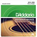 Cuerdas guitarra acúst. D'Addario EJ18 .014-059