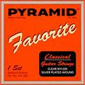 Cuerdas guit. clásica Pyramid Favorite