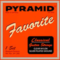 Set di corde per chitarra classica Pyramid Favorite