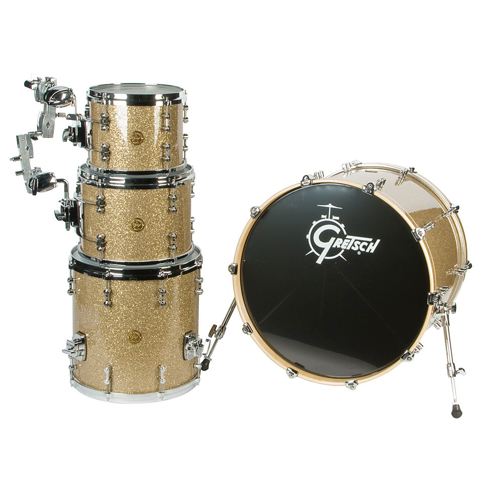 Gretsch new classic nce824vg vintage glass drum kit for Classic house drums